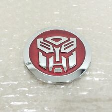 3D Car Decoration Transformers Sticker Logo Metal Autobot Emblem Badge Decal