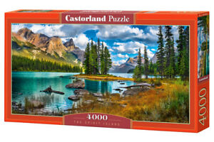 "Brand New Castorland Puzzle 4000 THE SPIRIT ISLAND 54"" x 27"" C-400188"