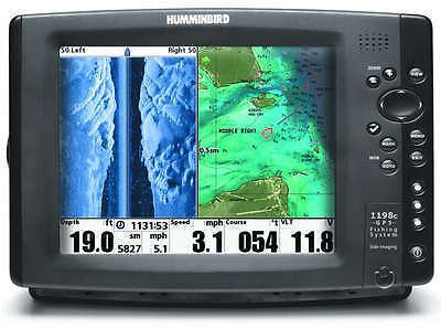 Humminbird 1198c SI Combo Fishfinder for sale online