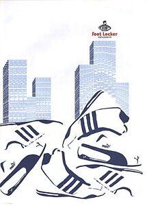 "PUBLICITE ADVERTISING 2003  PUMA chaussures baskets "" foot locker"""