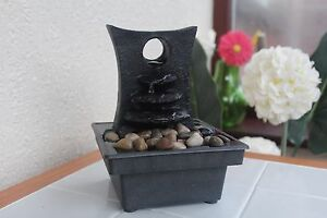 Image Is Loading Battery Operated Stone Effect Water Fountain Indoor