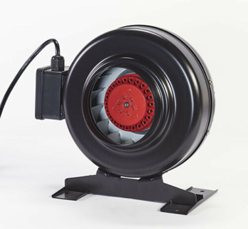 Hydroponics In-Line RVK Ducting Fan Indoor Growing Extraction ALL SIZES