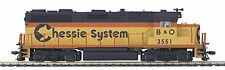 MTH 80-2232-0 HO SCALE GP-35 Diesel Chessie (B&O) #3551 DC, DCC Ready - NEW