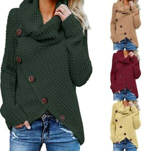 Outwear-Knitwear-Jumper-Women-039-s-Knitted-Sleeve-Tops-Winter-Long-Sweater-Cardigan