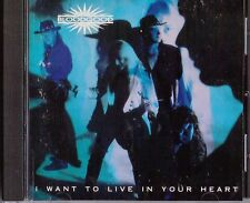 BLOODGOOD /I WANT TO LIVE IN YOUR HEART 1992 BROKEN RECORDS --OPENED CD  VG