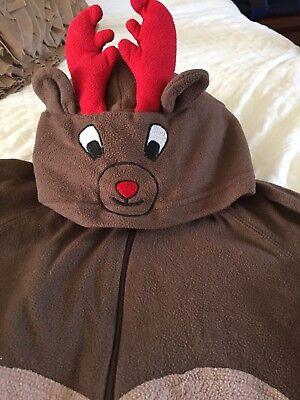Fashion Style Tutto In Un Unico Pezzo Pagliaccetto Tuta Tonica Due Alce Cervo Bambi- Reputazione In Primo Luogo