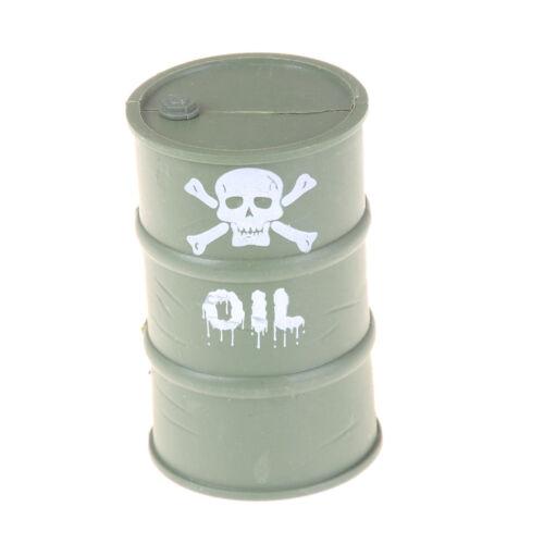 Militärplastiköl-Trommel-Werkzeug für 1//10 RC Rock Crawler axiale SA