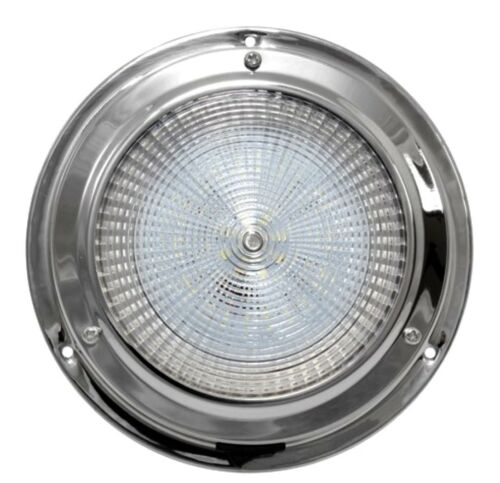 316 S.S Ceiling light 12V Interior 170MM Base Boat Chandlery//Canal Boat//Narrow