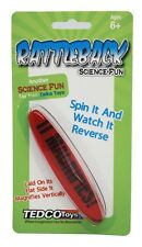 RATTLEBACK science toy novelty ~ Newton's Law of Motion ~ Tedco Toys # 56001