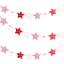 Gillter Paper Garland Bunting Banner Star Garlands Birthday Party Decor Supplies