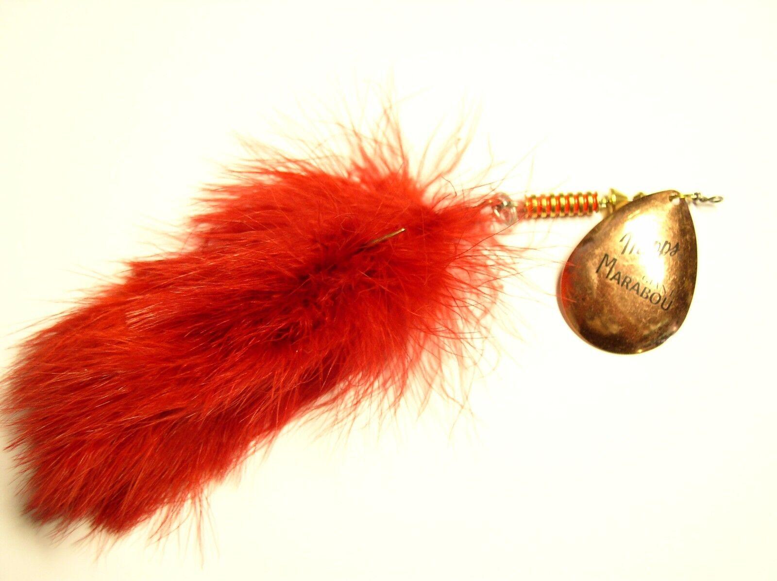 Mepps Giant Marabou, Marabou, Marabou, grande-Hecht y Waller Spinner 40 gramo en 3 Colors, intermitentes ab9c0b