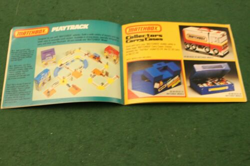 Matchbox Toys Catalogue from 1982-83 USA Edition