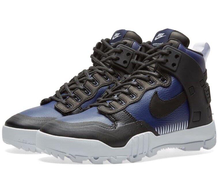 Nike x undercover SFB Jungle Dunk 910092-001 Noir Bleu Taille UK 10 EU 45 US 11-