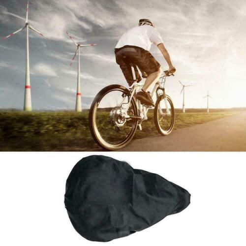 Waterproof Bicycle Seat Cover Elastic Rain Dust Resistant Bike Hot Outdoor F4P1