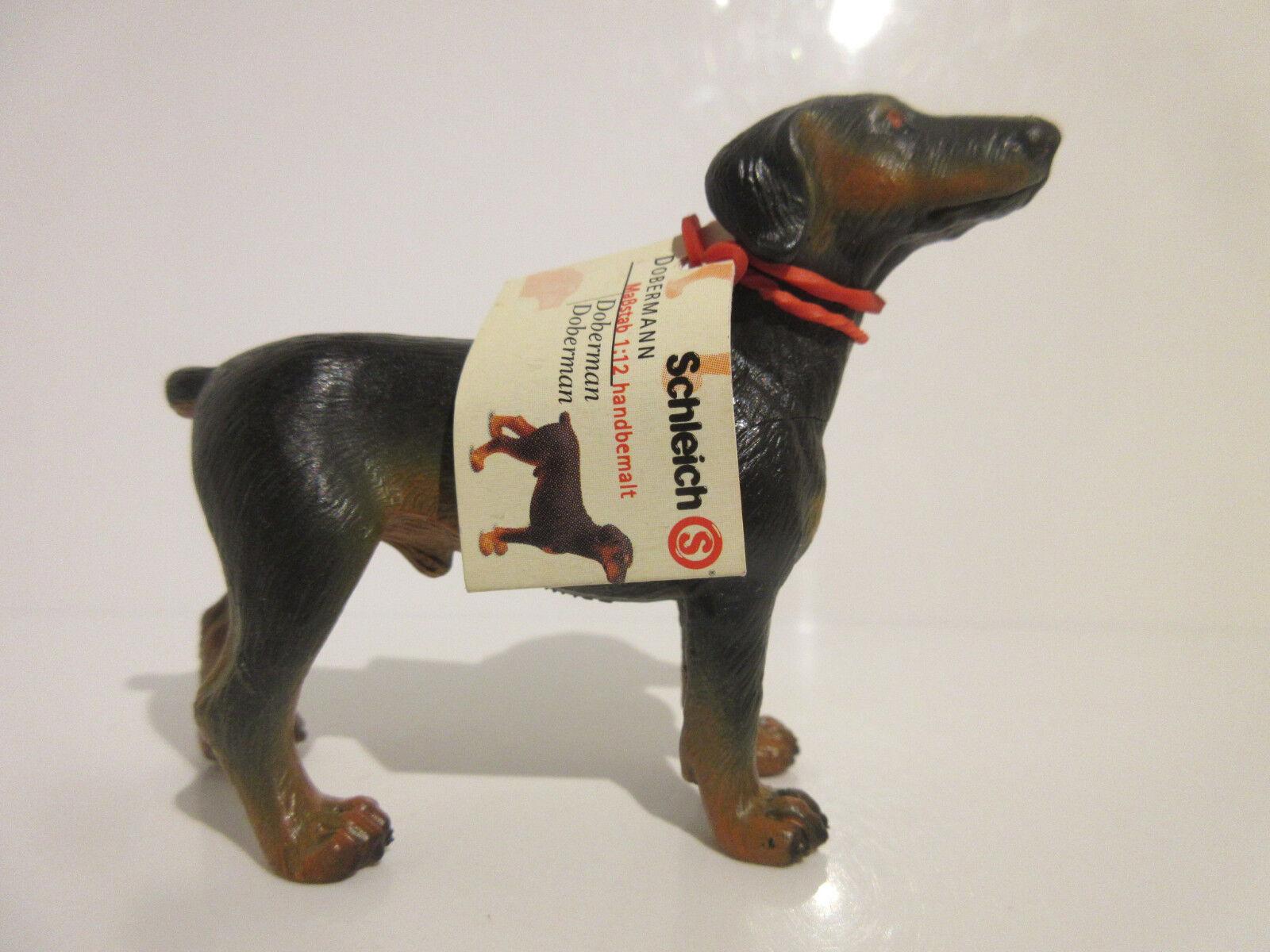 16318 Schleich Dog: Doberman  booklet  ref:21P27