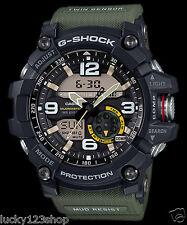GG-1000-1A3 Green Men's Compass Casio G-Shock Analog Digital MASTER G MUDMASTER