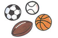 Large Football Baseball Soccer Basketball Sports Balls Wall Murals Decal Sticker