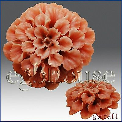 egbhouse, 3D Silicone Soap Mold - Marigold - free shipping
