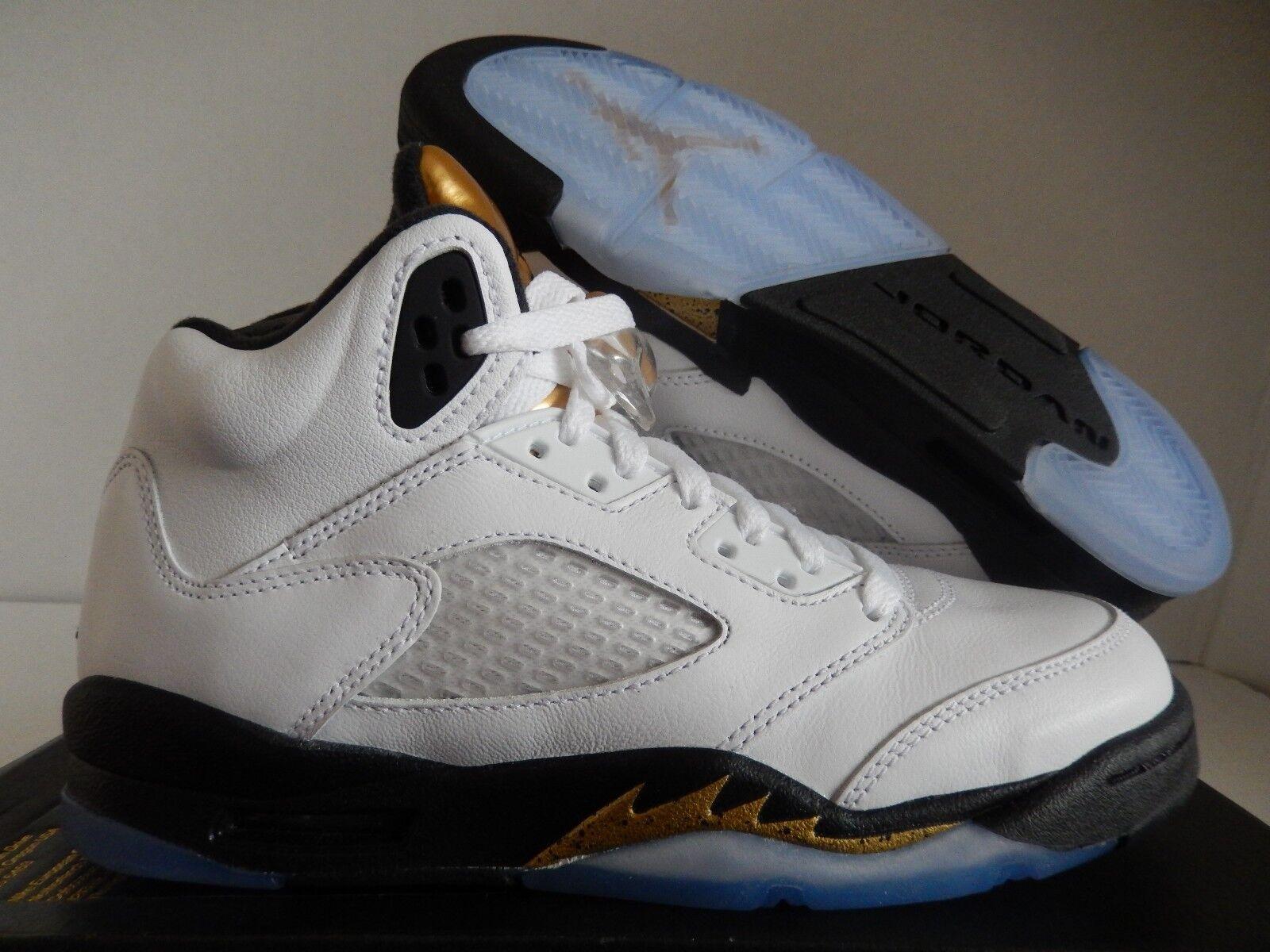 Nike Air Jordan 5 RETRO BG blancoo-moneda blancoo-moneda blancoo-moneda De oro Talla 4.5Y - Para Mujer Talla 6  precio al por mayor