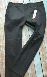 Sheego-Trousers-Cloth-Pants-Black-Size-48-to-52-plus-Size-897