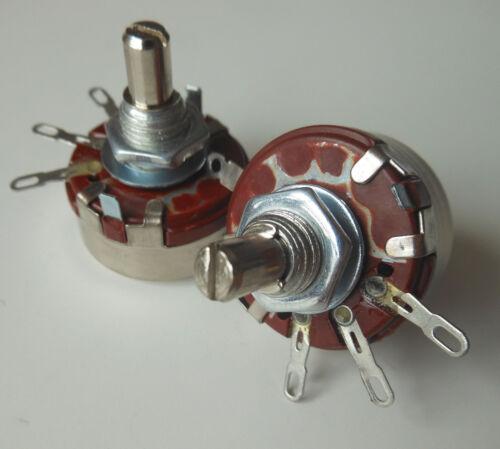 5pcs 220K Ω Ohm WTH118 WTH118-1A 2W Linear Potentiometer