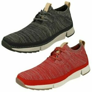 Mens-Clarks-Casual-Lace-Up-Trainers-Tri-Native
