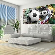 VLIES FOTOTAPETEN FOTOTAPETE TAPETEN TAPETE POSTER FUSSBALL SPORT 3D  3FX3381VEP