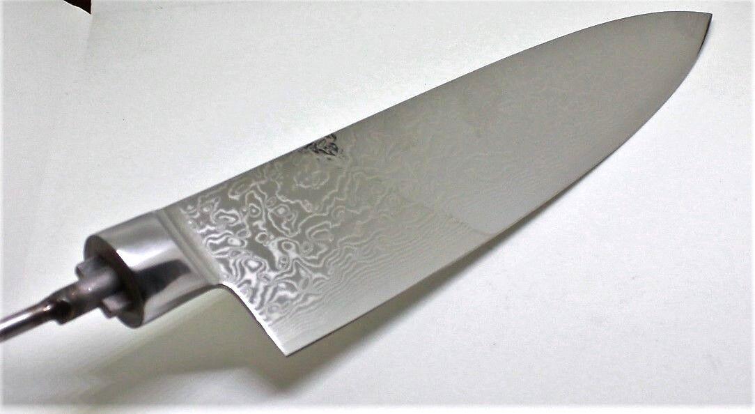 Klinge Raffir SS SS SS Chef Knife VG10 rostfrei Messerklinge Kochmesser Damast f64646