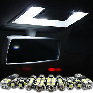 5050-LED-Innenraumbeleuchtung-Weiss-fuer-AUDI-A6-S6-4F-C6-Limousine-ab-2004