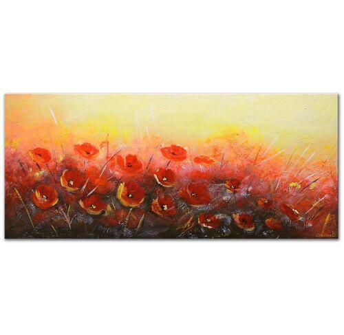 100/% Handgemalt Acryl Gemälde handgemaltes Wand Bild Kunst Leinwand Blumenduft
