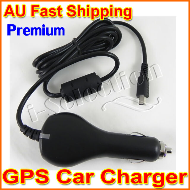Premium GPS Car Charger for Garmin Nuvi 265 265T Zumo 350LM Dezl 560LT 760LMT