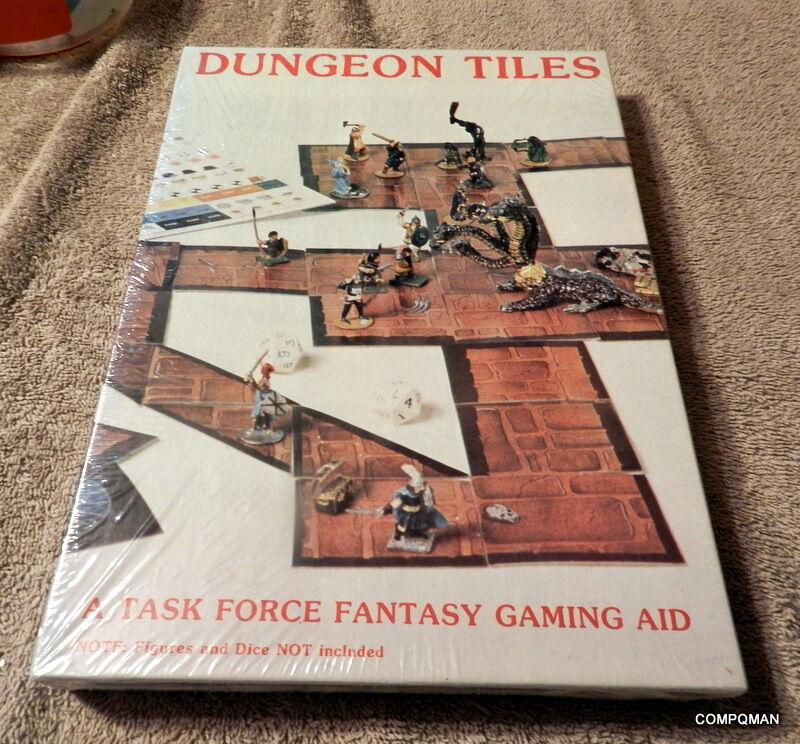 Dungeon Azulejos Dungeons & Dragons AD&D Task Force Juegos de fantasía ayuda Sellado Nuevo