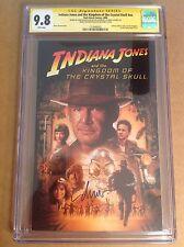 CGC SS 9.8 Indiana Jones and the Kingdom of Crystal Skull signed Drew Struzan