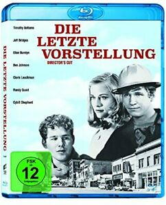 THE-LAST-PICTURE-SHOW-Blu-ray-1971-Director-039-s-Cut-Rare-German-Import-Movie