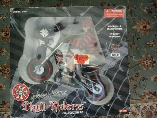 Jesse James West Coast Choppers Radio Control Motorcycle For Sale Online Ebay