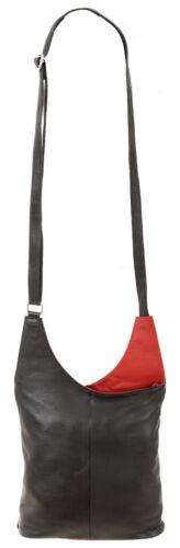 Zwart Dames Color Leren Tas 1161 2 Leren Dames Tas Cinino Rood handtas uK1Jc3TF5l