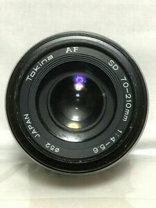 【AS IS】Tokina AF SD 70-210mm F4-5.6 Lens for Minolta/Sony Alpha From Japan