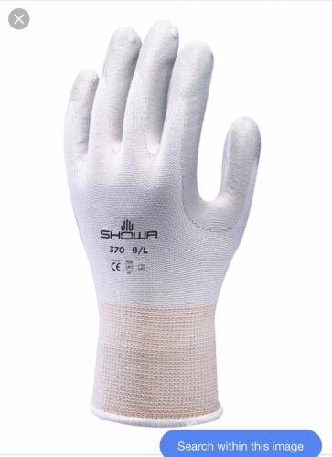 Showa 370 Grey Assembly Grip Gloves Size 7 Medium