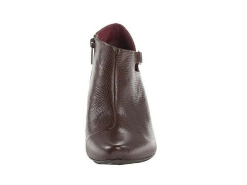 New Tsubo Womens Porter-Leather ankle Boots heels Shoes