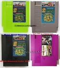 Nintendo NES Multi Games Cartridge SUPER GAMES 500 in 1 Turtle Contra Color Case