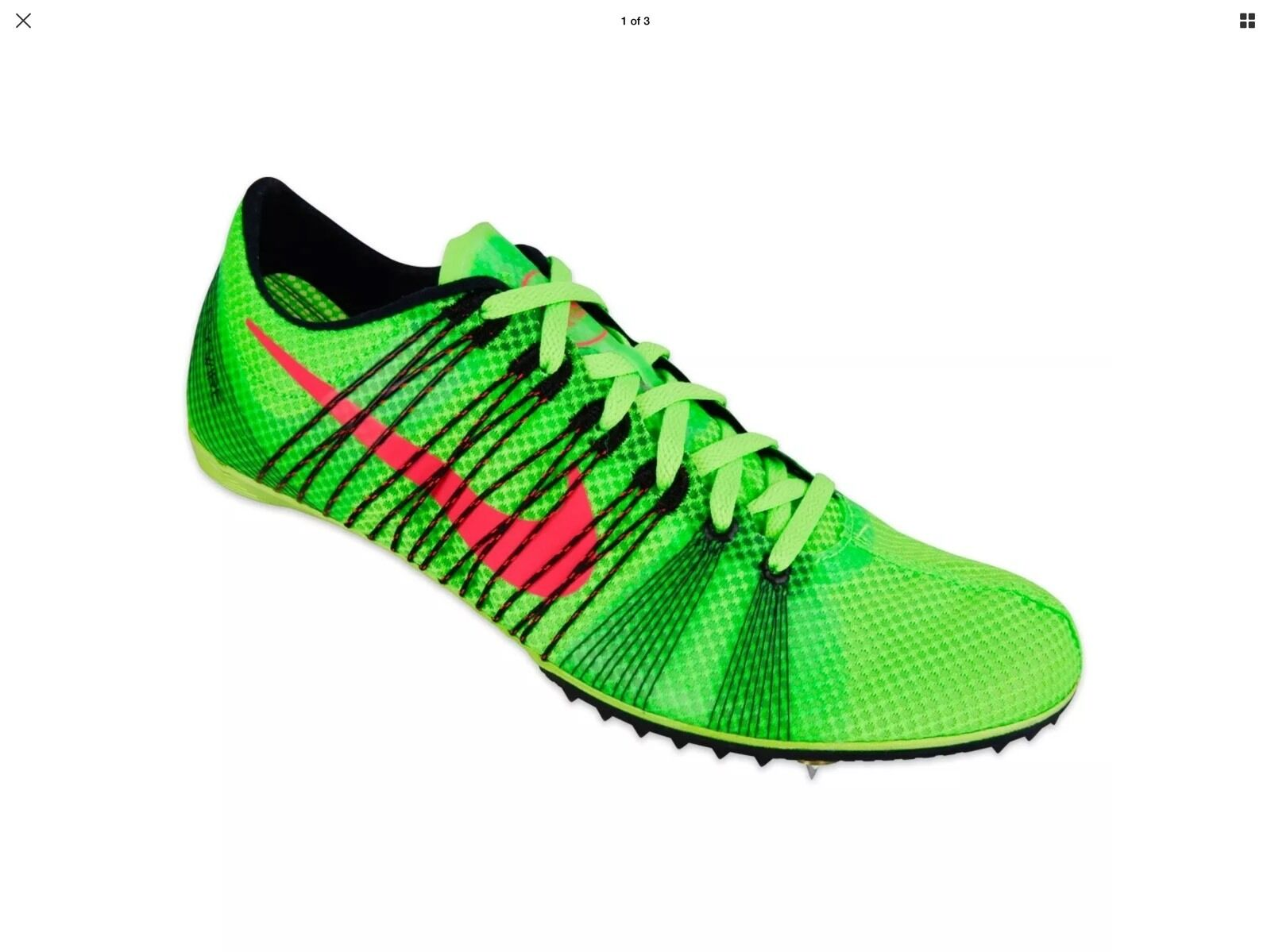 NEW Nike Zoom Victory 2 Flyweave Distance Running Spikes XC Shoes Sz 11.5
