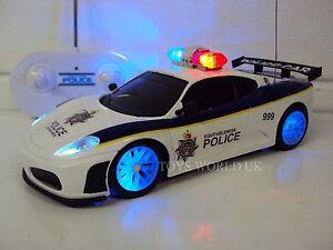 Police Ferrari Radio Remote Control Car Police Sirens