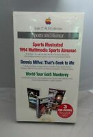 Brand In Box 1994 Apple Computer Mac Os Cd-rom Collection Sports And Humor