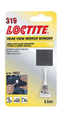 Loctite 319 Auto Posteriore Vista Specchio Bonder-vetro & Metallo Colla, Antenna Aerial Etc- Forte Imballaggio