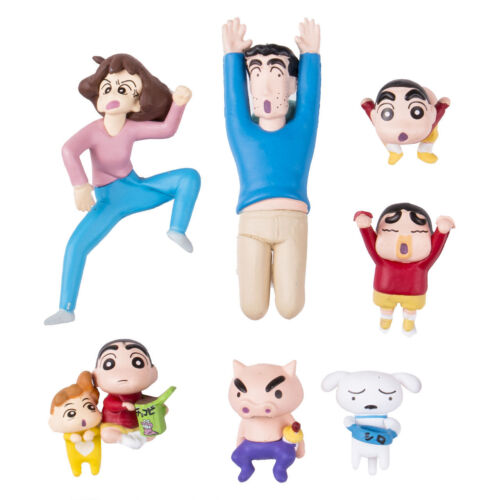Kitan Club PUTITTO Crayon Shin chan mini tea cup friends figure toys gift box