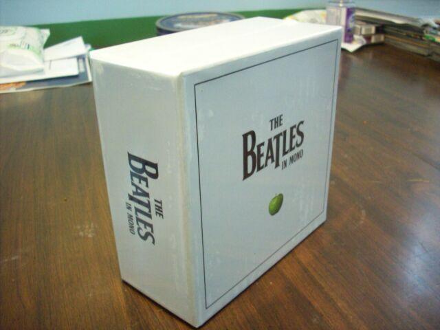 Authentic Mono Box Set, The Beatles CD,2009, Apple Press., New ! Sealed !