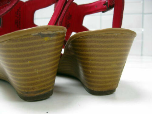 Pink 5 Shoes Ladies Slingbacks Leather Uk 5 Wedges Mules Clarks Sandals 4I8drq8w