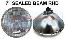 "7"" GENUINE SEALED BEAM HEADLIGHT HEADLAMP UNIT FOR CLASSIC CAR SB7014 RHD UK"