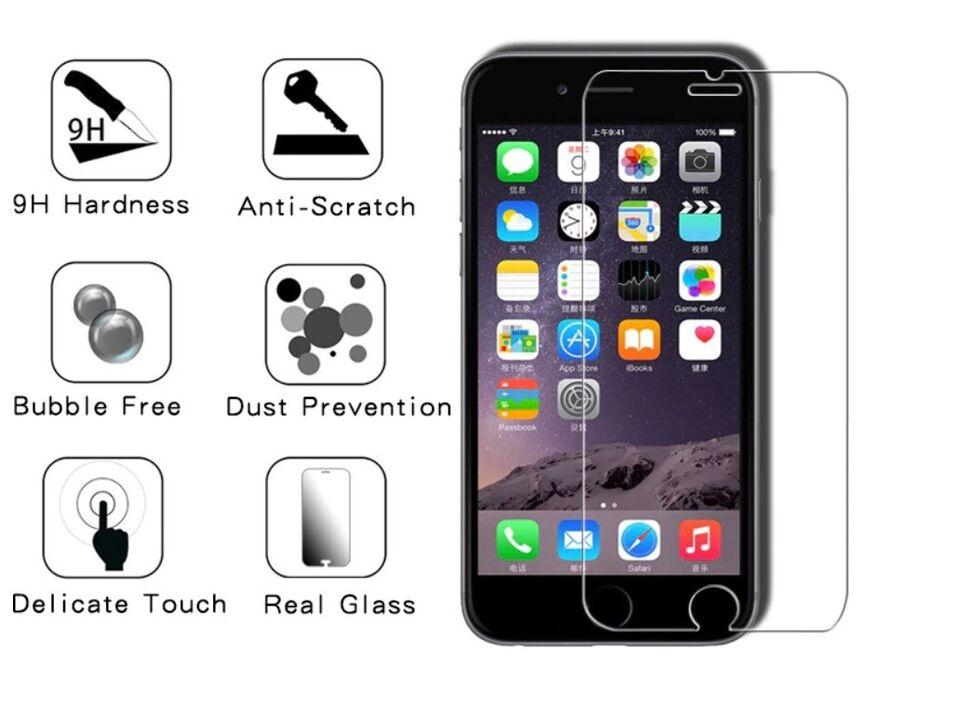 Skærmbeskyttelse, t. iPhone, 6/6S/7/8/Se 2020