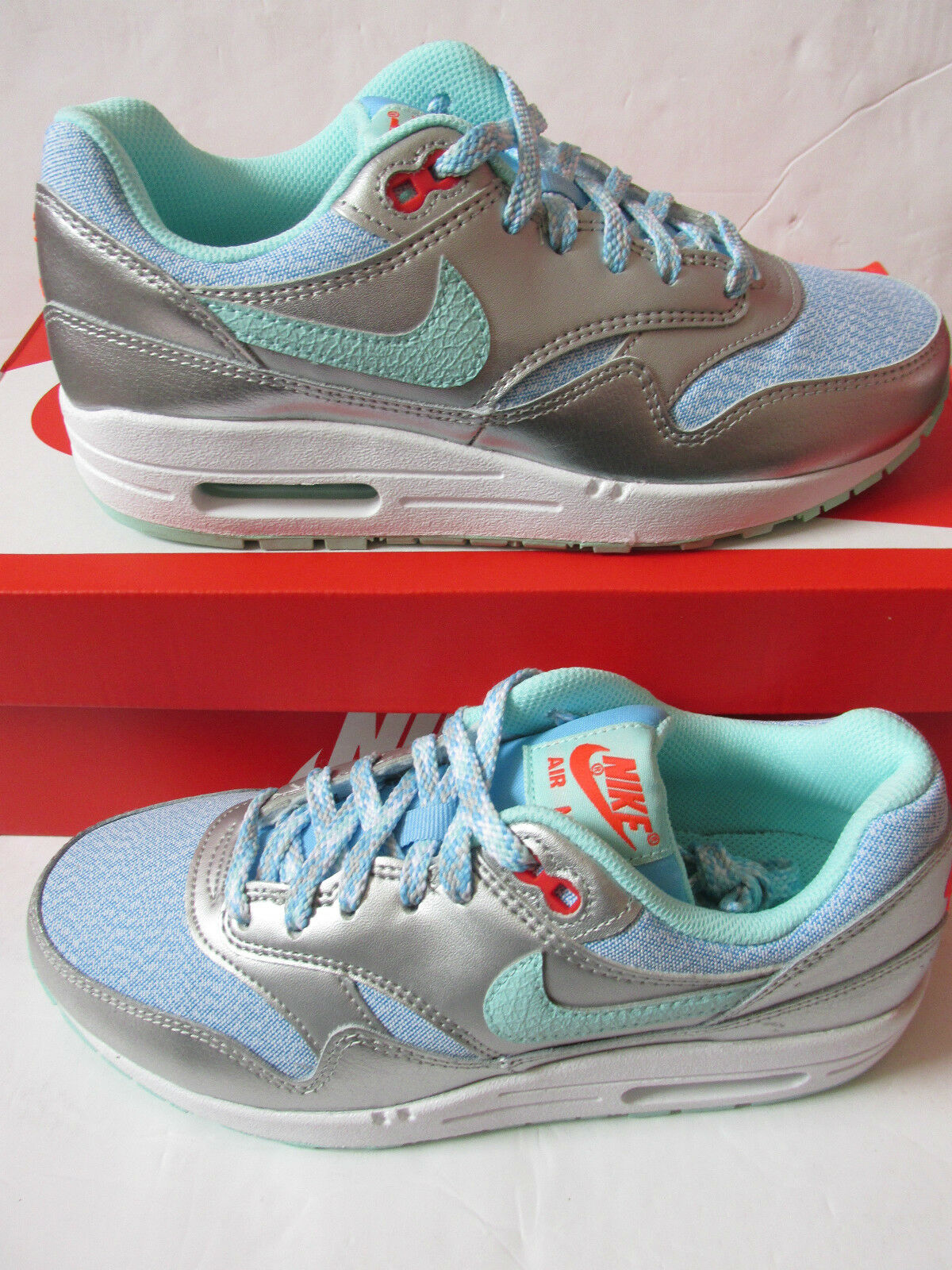 nike air max 1 (GS) running trainers 653653 401 sneakers  chaussures